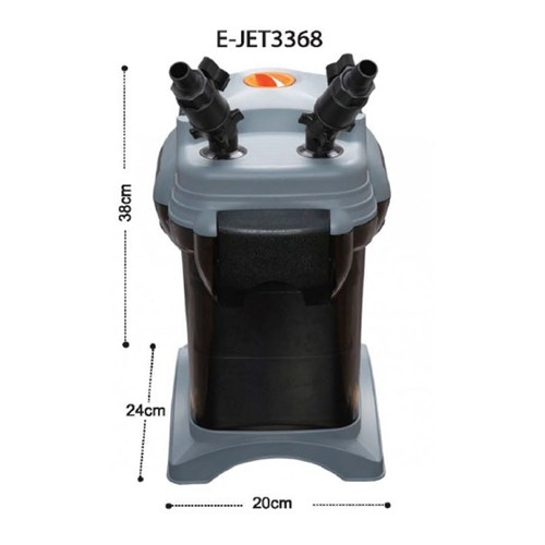 E-Jet 3368 Akvaryum Dış Filtre 8 Watt 1400 Lt/S