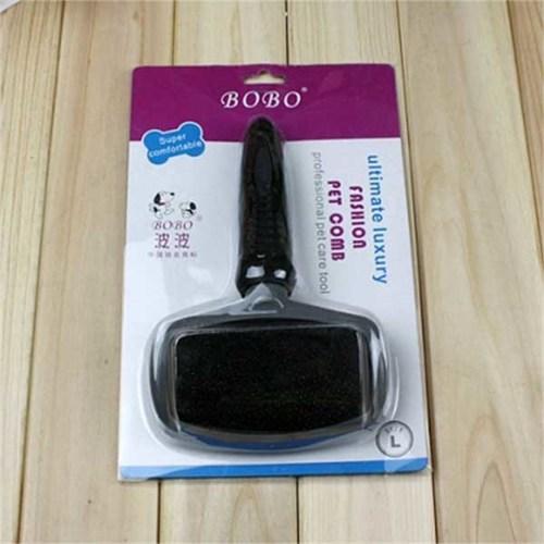 Bobo İnce Uçlu Kedi Köpek Fırçası L