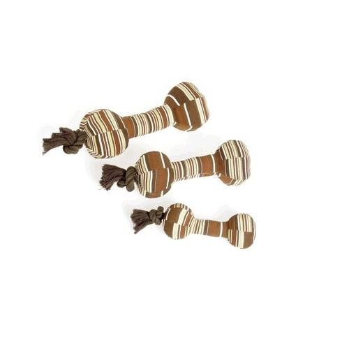Karlie Yaslı Köpek Oyuncağı Halter İpli 26 Cm