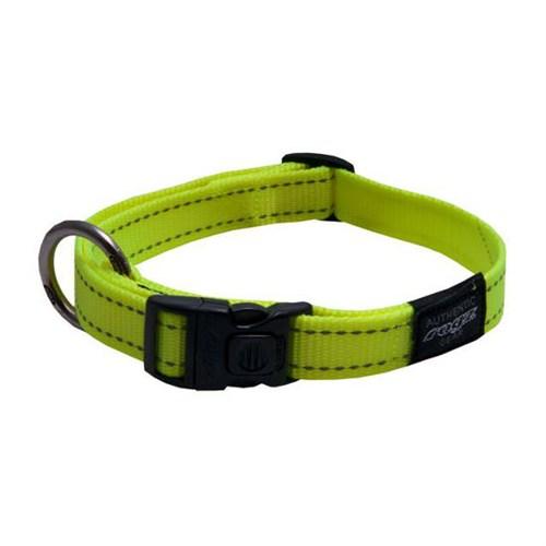 Rogz Köpek Boyun Tasma Sarı Reflektörlü 11 Mm-S