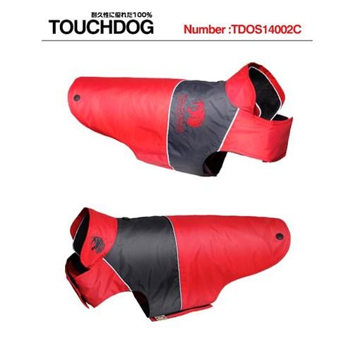 Touchdogs Küba (Xl) Köpek Anorak 47*74*43 Kırmızı