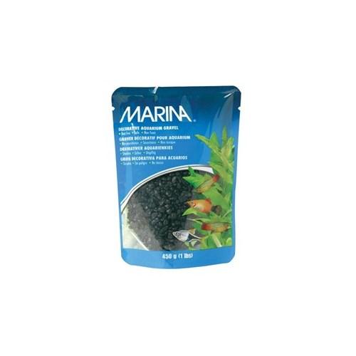 Marina Renkli Çakıl Siyah 450 Gr