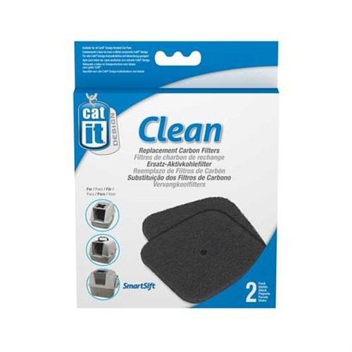 Catit Tuvalet Kabinleri İçin Karbon Filtre 2'Li