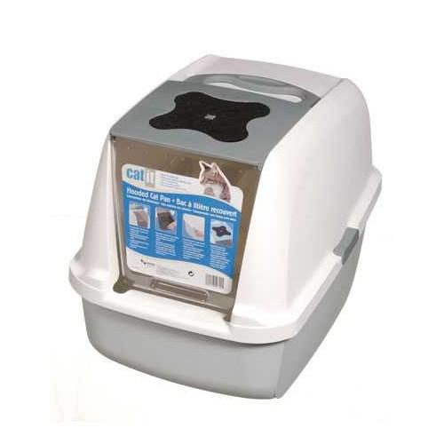 Catit Kapalı Kedi Tuvalet Kabini Gri (57X46,5X39)