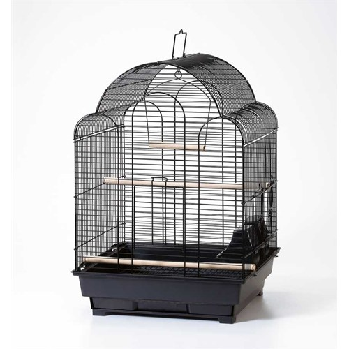 Qh Pet Cage Kafes Beyaz 40,5X40,5X58,5 (4)