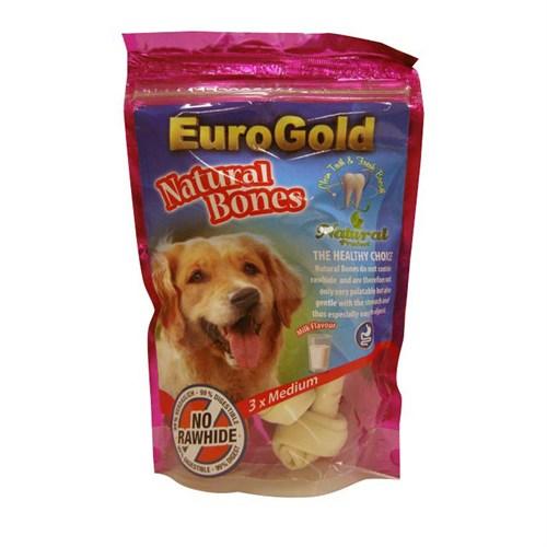 Eurogold Natural Kemik Peynir - Süt Aromalı Orta 3'Lü