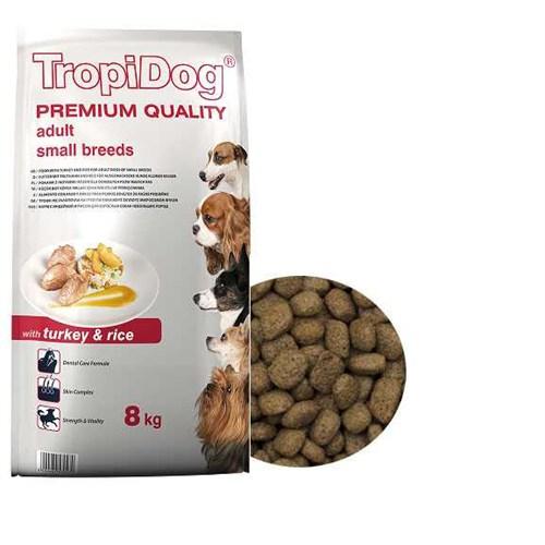 Tropidog 57047 Premium Adult Small Breed Turkey&Rıce 8 Kg