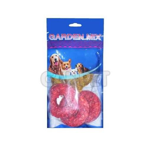 Garden Mix Munchy Pres Halka Kemik 6'lı 6*6*1.5 cm