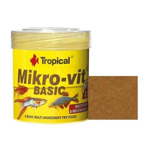 Tropical Microvit Basic Yavru Balık Yemi 50 Ml