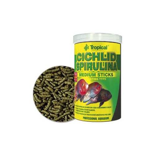 Tropical 63624 Cichlid Spirulina Medium Sticks 250 Ml