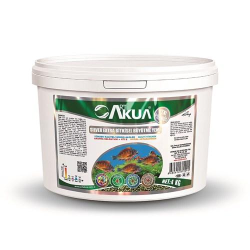 Art Akua Silver Bitkisel Beslenen Büyütme Yemi 3000 Gr (1 Mm)