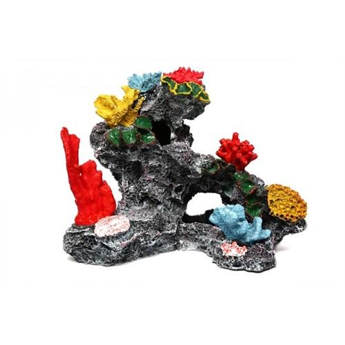 Akvaryum Dekor Mercanlı Kaya