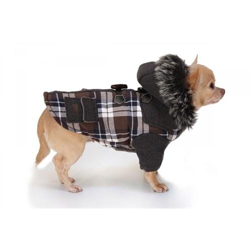 Köpek Ceket (Tartan) 35 Cm