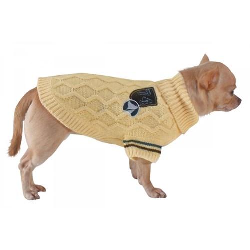 Köpek Hırka (Creamy) 50 Cm