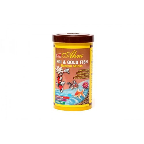 Balık Yemi Koi Goldfish Natural Sticks 1000 Ml