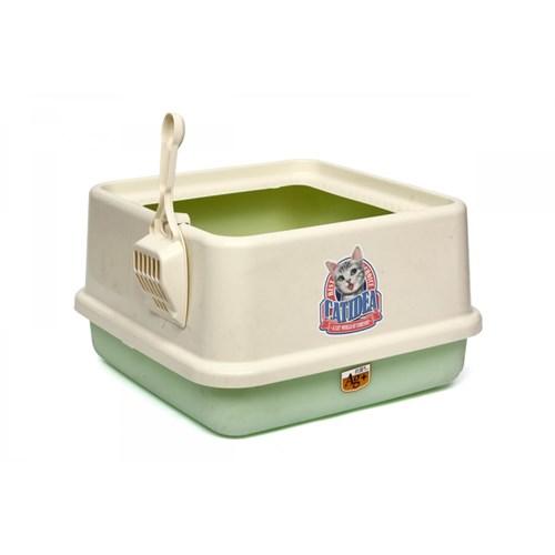 Yüksek Lux Kedi Tuvaleti Fıstık Yeşili