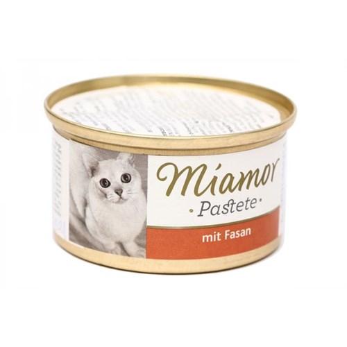 Miamor Pastete Sülün Etli Kedi Konserve Mama 85 gr