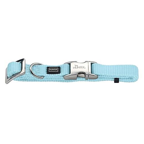 Hunter Vario Naylon Metal Klipsli Köpek Boyun Tasması 1,5- 30 45 Cm Mavi