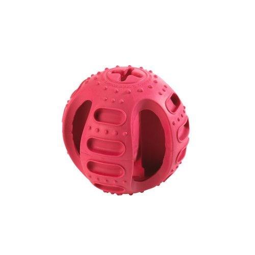 Hunter Vanilya Aromalı Kauçuk Köpek Ödül Topu 9,5 Cm Kırmzı