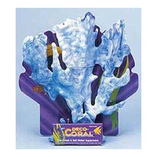 Dekoratif Yapay Mercan Kalın Dallı Mavi
