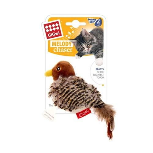 Gigwi Doğal Tüylü Kuş Ses Kontrollü