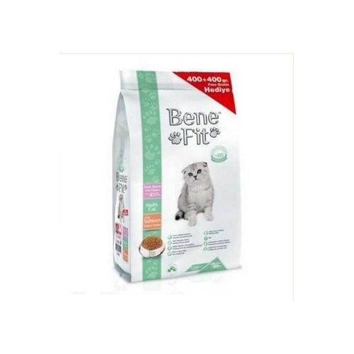 Benefit New Born Multi Cat Somon Balıklı Yavru Kuru Kedi Maması 400 Gr + 400 Gr