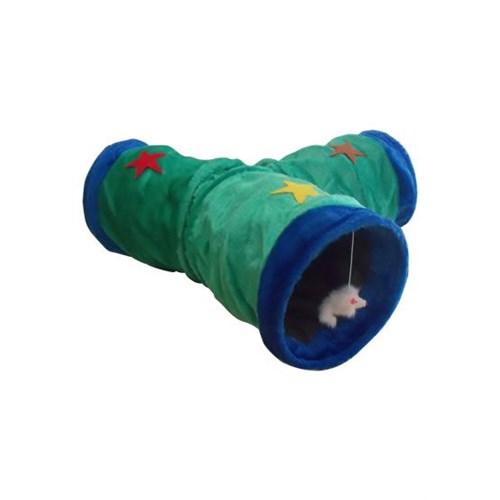 Eastland Peluş Kedi Oyun Tüneli 3 Tünel 26 X 30 Cm