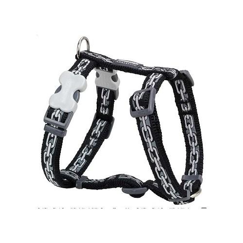 Reddingo Zincir Desenli Xl Köpek Göğüs Tasması 25 Mm