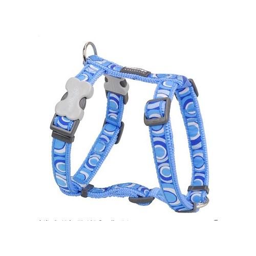 Reddingo Circadelic Desenli Mavi Köpek Göğüs Tasması 20 Mm
