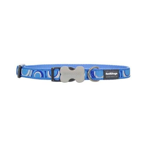 Reddingo Circadelic Desenli Mavi Köpek Boyun Tasması 15 Mm