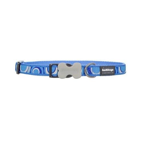 Reddingo Circadelic Desenli Mavi Köpek Boyun Tasması 20 Mm