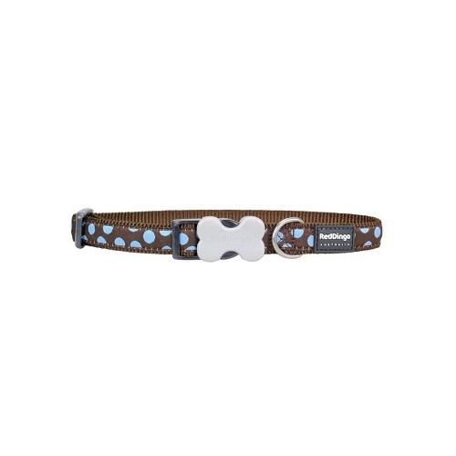 Reddingo Kahverengi Üzerine Mavi Benekli Köpek Boyun Tsm 15 Mm