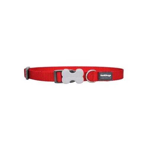 Reddingo Klasik Kırmızı Köpek Boyun Tasması 20 Mm