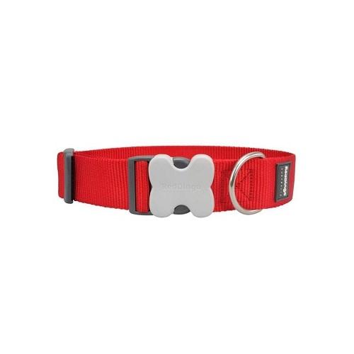 Reddingo Klasik Kırmızı Dev Kısa Köpek Boyun Tasması 40 Mm