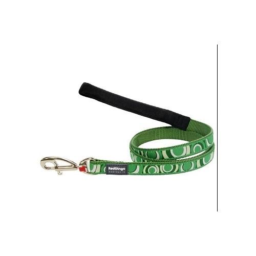 Reddingo Circadelic Desenli Yeşil Uzatma Köpek Tasması 25 Mm