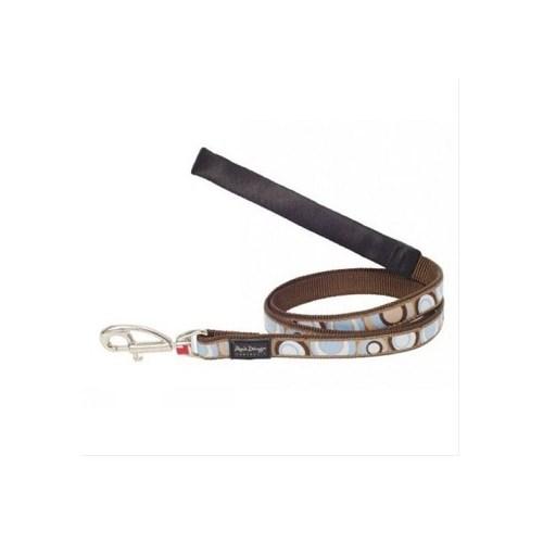 Reddingo Circadelic Desenli Kahverengi Uzatma Köpek Tasması 15 Mm