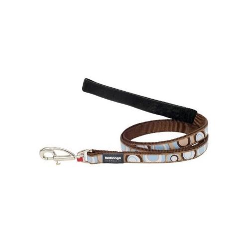 Reddingo Circadelic Desenli Kahverengi Uzatma Köpek Tasması 20 Mm