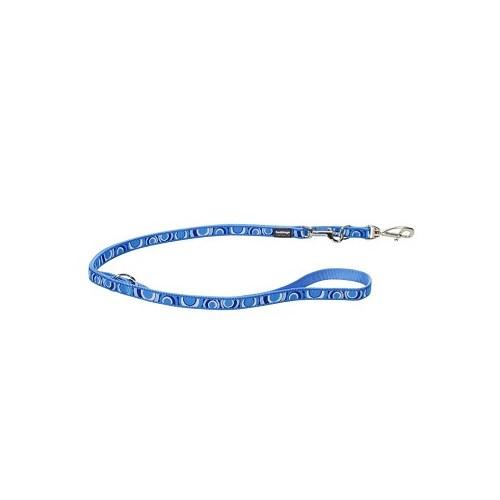 Reddingo Circadelic Desenli Mavi Çok Amaçlı Uzatma Köpek Tasması 20 Mm