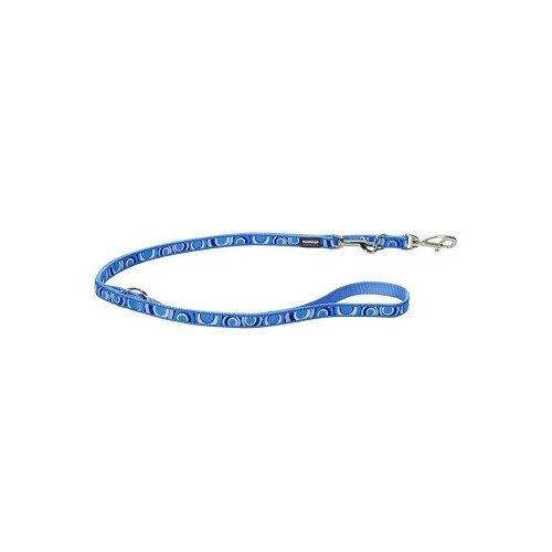 Reddingo Circadelic Desenli Mavi Çok Amaçlı Uzatma Köpek Tasması 25 Mm