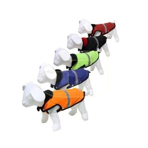 Pet Style Reflektörlü Anorak Mavi Köpek Kıyafeti No:1