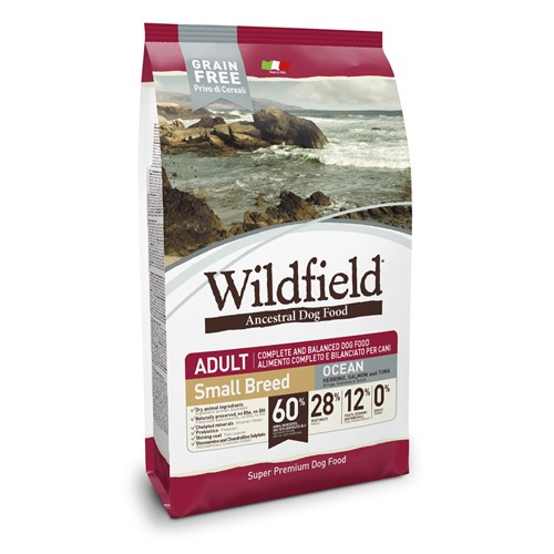 Wildfield Okyanus Ringa Balıklı,Somonlu Ve Ton Balıklı Yetişkin Küçük Irk Köpek Maması 7 Kg