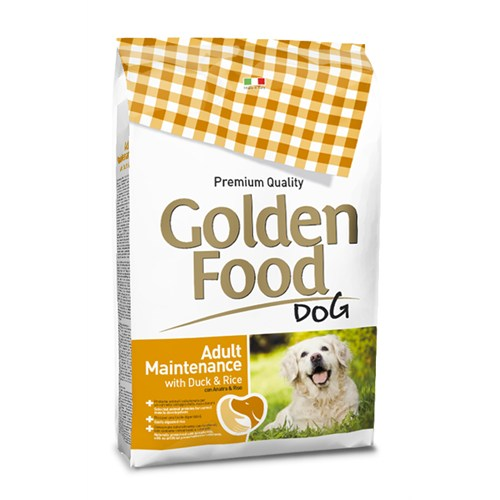 Golden Food 12,5 Kg Ördekli Ve Pirinçli Yetişkin Köpek Maması