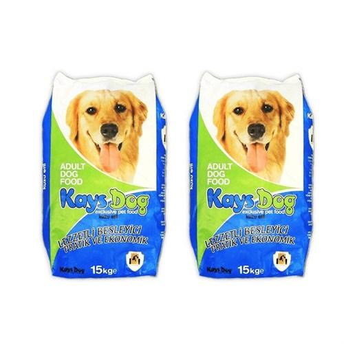 Kays Dog Kuzu Etli Pirinçli Yetişkin Köpek Maması 2 Adet (15 Kg + 15 Kg)