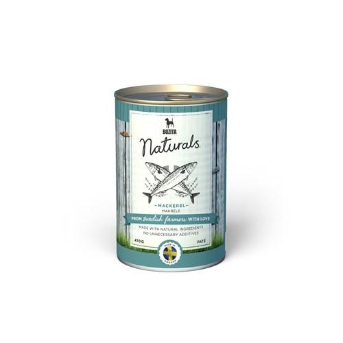 Bozita Naturals Orkinoslu (Mackerel) Köpek Yaş Mama 410Gr