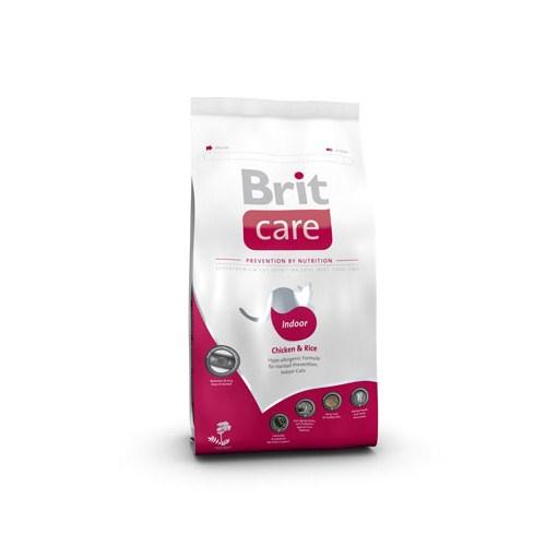 """""""Brit Care Ev Kedileri İçin Tavuklu Pirinçli Hipoalerjenik Kedi Maması - 2Kg"""""""