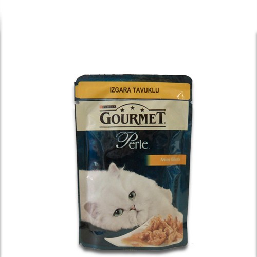 """Gourmet Perle Izgara Tavuklu Kedi Konservesi 85Gr - 6 Adet"""