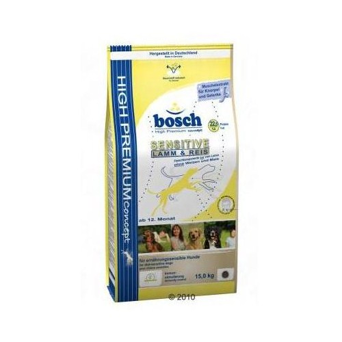 Bosch Hassas Kuzulu Pirinçli Yetişkin Köpek Maması - 15Kg