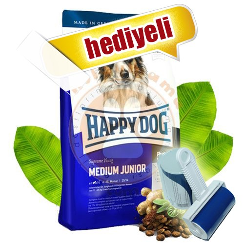 Happy Dog Medium Junior Orta Irk Yavru Köpek Maması 4 Kg