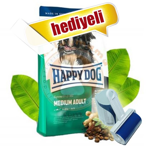 Happy Dog Fit&Well Medium Orta Irk Köpek Maması 12,5 Kg