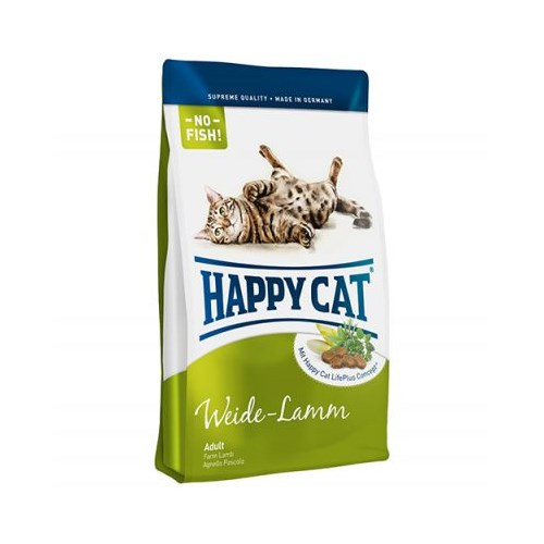 Happy Cat Weide Lamm Kuzu Etli Kedi Maması 1,8 Kg